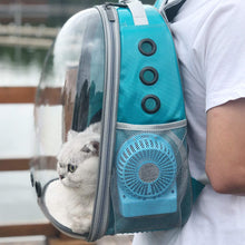 Load image into Gallery viewer, PET AIR CONDITIONER, RECHARGEABLE VIA USB, MINI FAN USE WITH BACKPACK