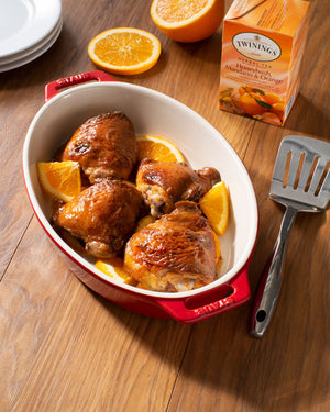 Honeybush, Mandarin & Orange Baked Chicken