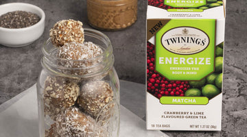 Energize Matcha, Cranberry, & Lime Bliss Balls