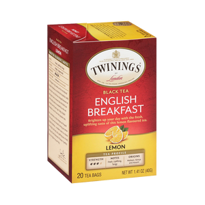 English Breakfast Lemon