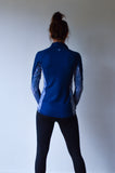 JL Performance Thermo Shirt Wild Oar met korte rits - dames