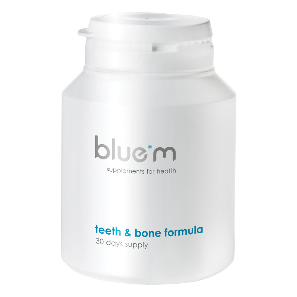 BlueM Supplements Teeth & Bone Formula 90 Capsules