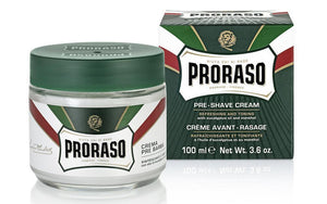 Proraso Green Pre-Shave Cream with Eucalyptus Oil 100ml