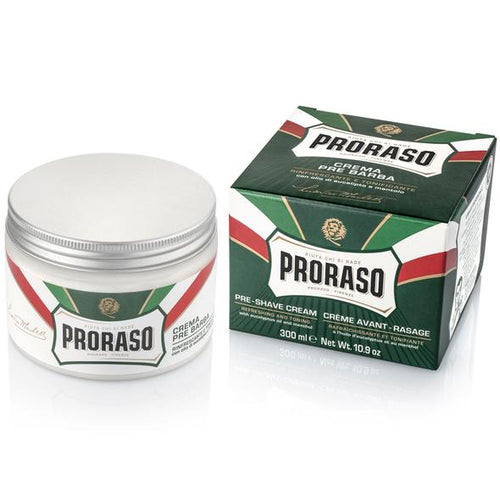 Proraso Green Pre-Shave Cream with Eucalyptus Oil 300ml