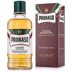 Proraso Sandlewood Shea Oil Nourish Aftershave Lotion 400ml
