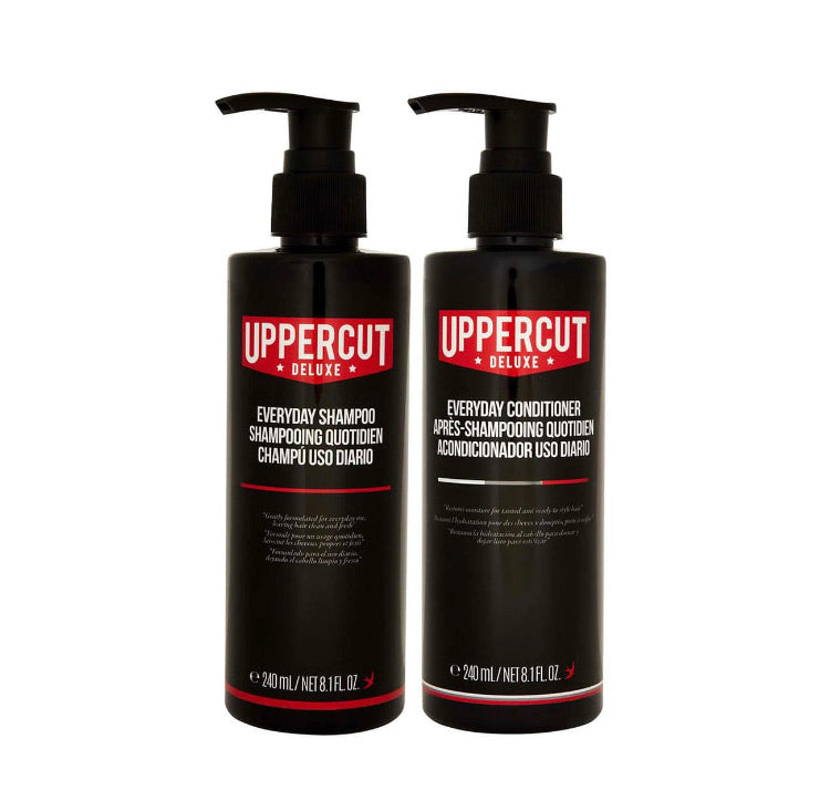 Uppercut Deluxe Everyday Shampoo & Conditioner Pack 240mL
