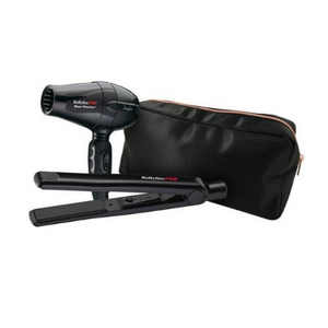 BaByliss PRO Bambino Dryer & Ceramic Straightener Travel Set