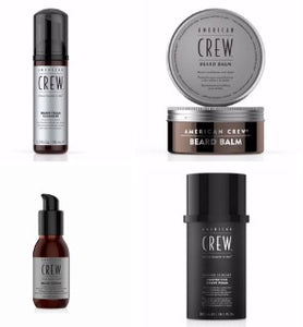 American Crew Beard Pack + Travel Bag