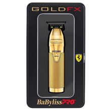 Load image into Gallery viewer, BaByliss PRO Skeleton GoldFX Outliner Lithium Hair Trimmer - FX7870GE (Sale)