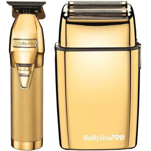 BaByliss PRO Gold FX Collection (Skeleton and Gold Foil Shaver Set)