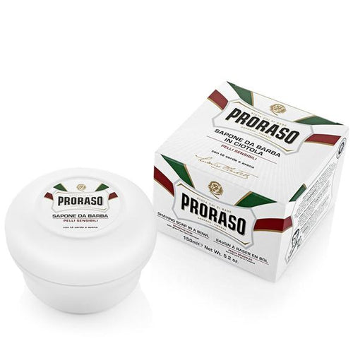 Proraso Green Tea & Oatmeal Shaving Soap Sensitive 150ml