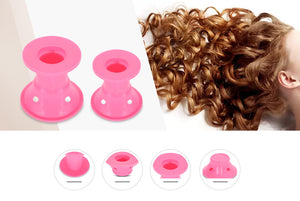 Silicone Hair Curler (Set of 10Pcs)