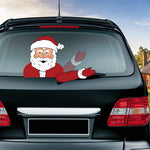 Christmas Wiper Decal (Can be reused)