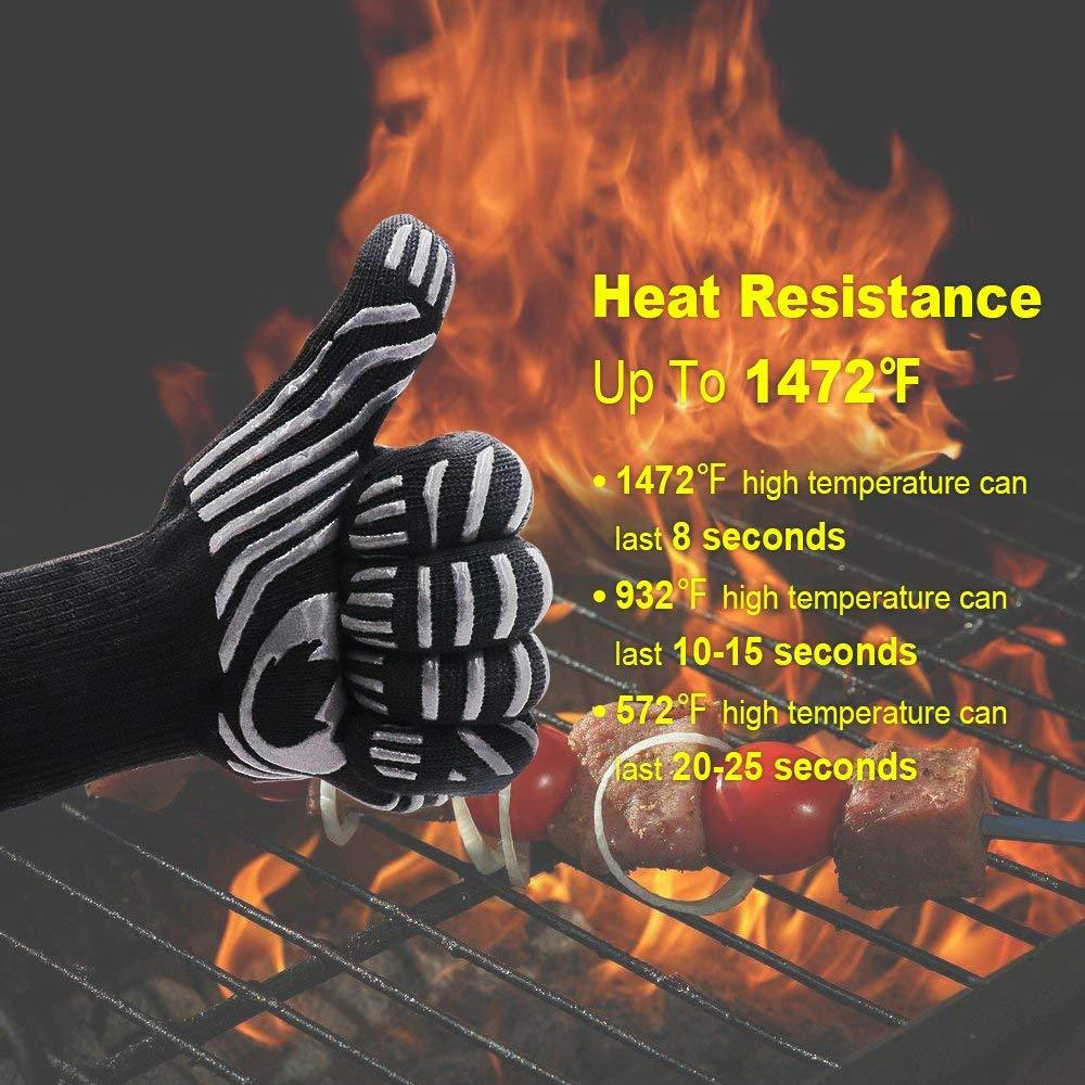 (50% OFF today!)Heat Resistant for Extreme Temperatures (-109ºF to 1472ºF)