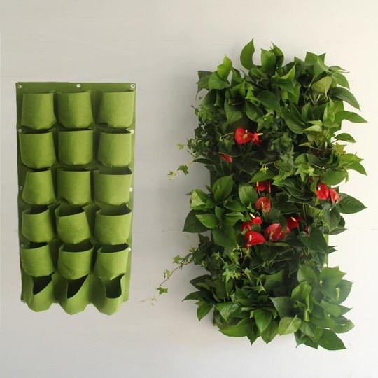 (50% OFF Today) Vertical Hanging Growing Bag