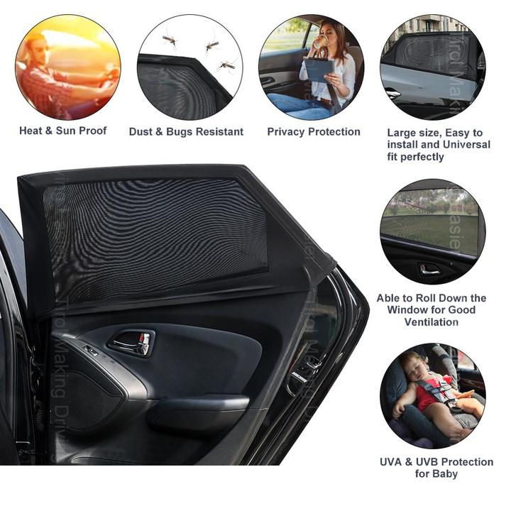 Universal Car Window Sun Shade (Fits all Cars)