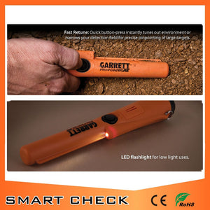 Waterproof Pinpointing Metal Detector, Orange (Free Shipping)