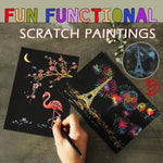 Fun Functional Scratch Paintings
