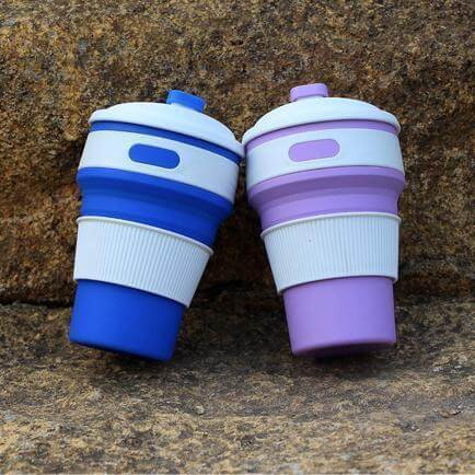 Creative silicone coffee cup