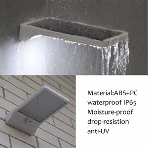 WATERPROOF SOLAR OUTDOOR MOTION SENSOR LIGHT