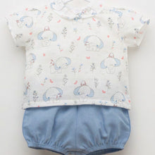 Load image into Gallery viewer, Blue Elephant Jam Pants Set J3131