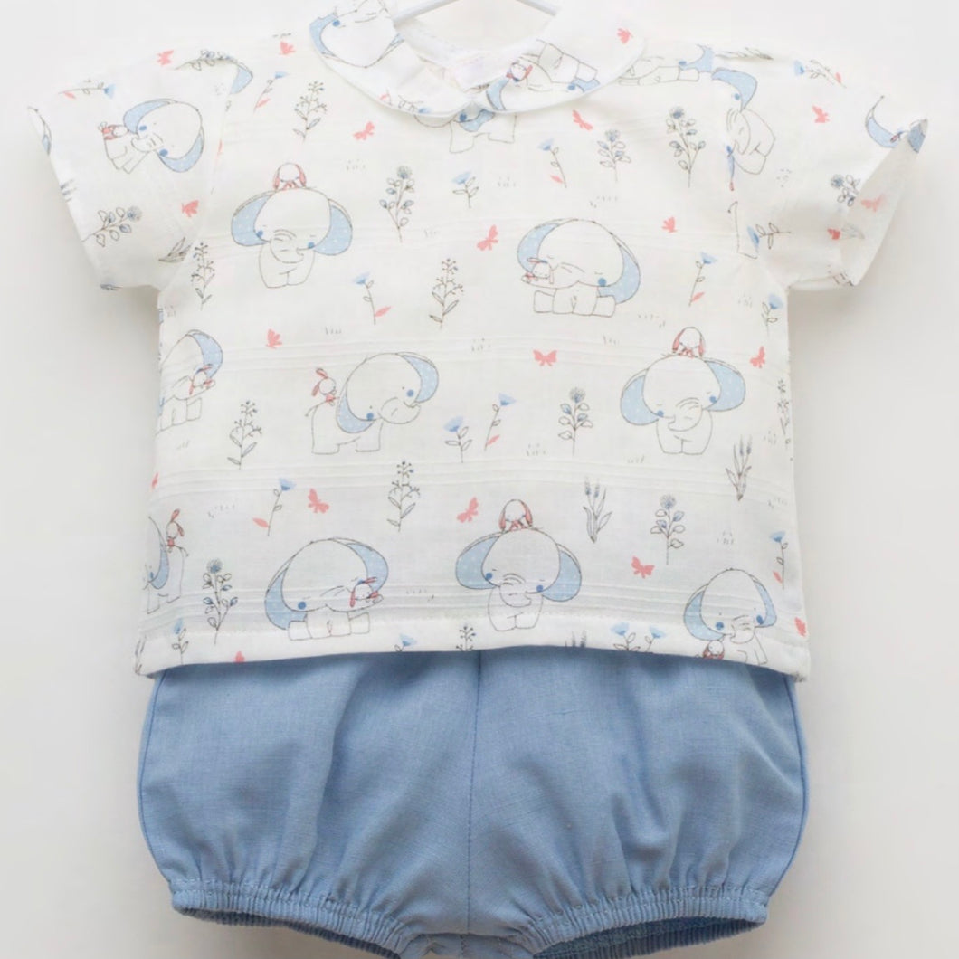 Blue Elephant Jam Pants Set J3131