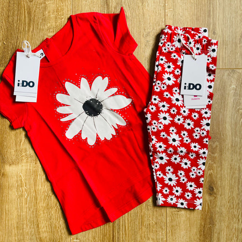 Daisy Legging Set 3/4 Length
