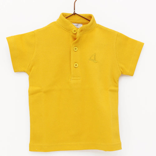 Safari Yellow Polo Top 6406-OL
