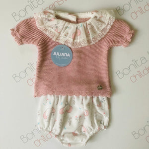 Pink Elephant Jam Pants Set J3050