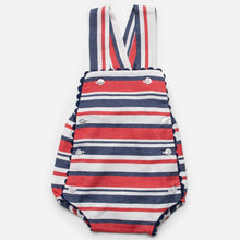 Load image into Gallery viewer, Candy Stripe Romper J3138