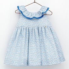 Load image into Gallery viewer, Blue Sea Dress 5423