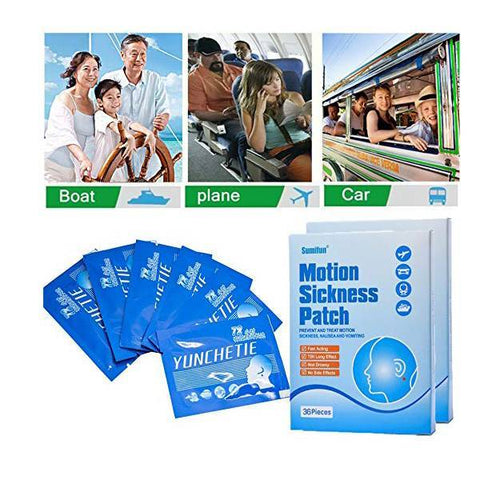 Anti Motion Sickness Herbal Patches (36 Pcs)