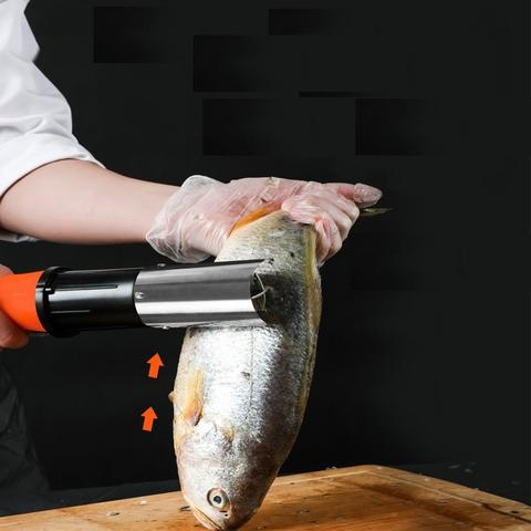 Image of Professional Waterproof Electric Fish Scaler