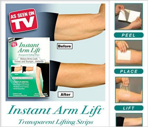 Instant Arm Lift - Transparent Lifting Strips