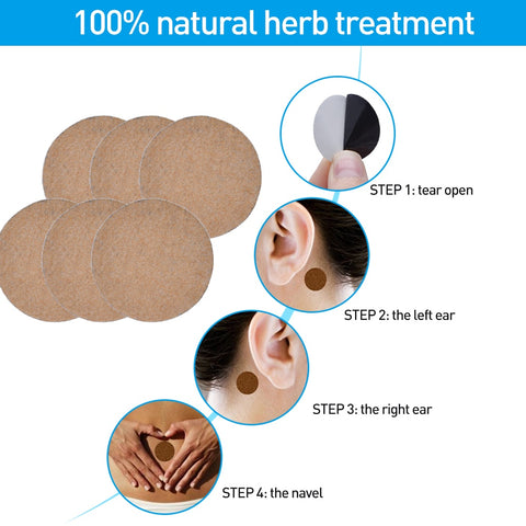 Image of Anti Motion Sickness Herbal Patches (36 Pcs)