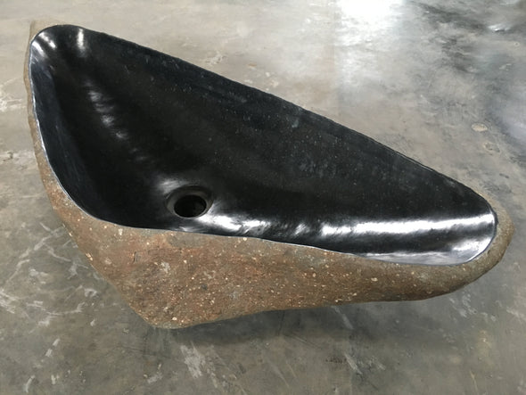 Buy Large Stone Basin Natural Stone | StoneBase