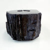 Petrified Wood Single Tealight Candle Holder (K)