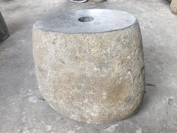 NATURAL STONE UMBRELLA STAND 40cm (718)-StoneBase