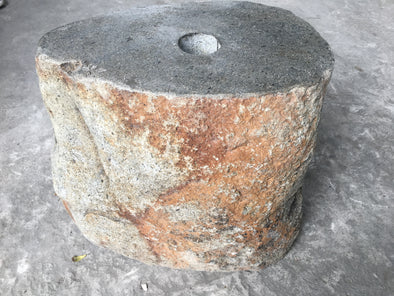 NATURAL STONE UMBRELLA STAND 40cm (721)-StoneBase