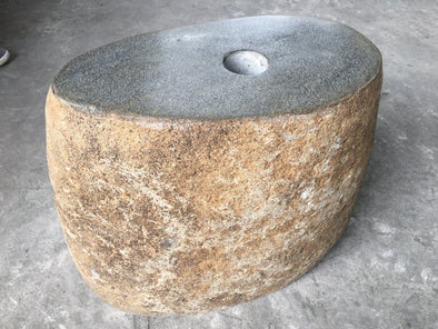 NATURAL STONE UMBRELLA STAND 40cm (722)-StoneBase