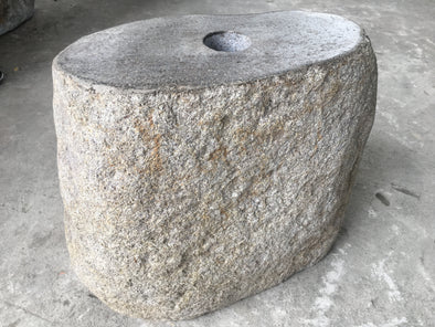 NATURAL STONE UMBRELLA STAND 40cm (723)-StoneBase