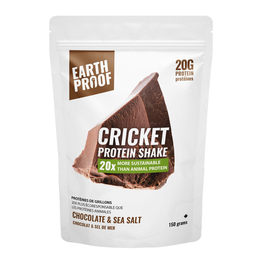 Chocolate & Sea Salt Protein Powder - Earthproof Protein