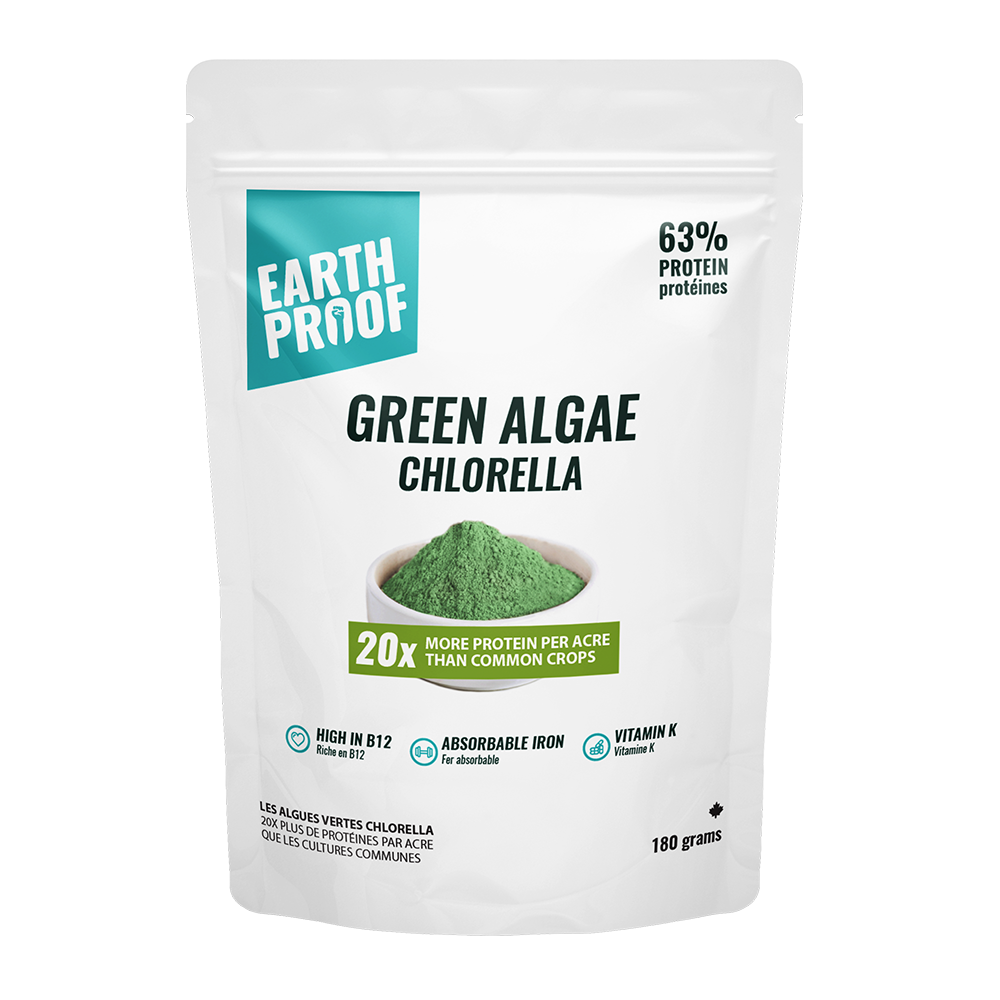 Pure Green Algae (Chlorella) Powder - gubgub foods