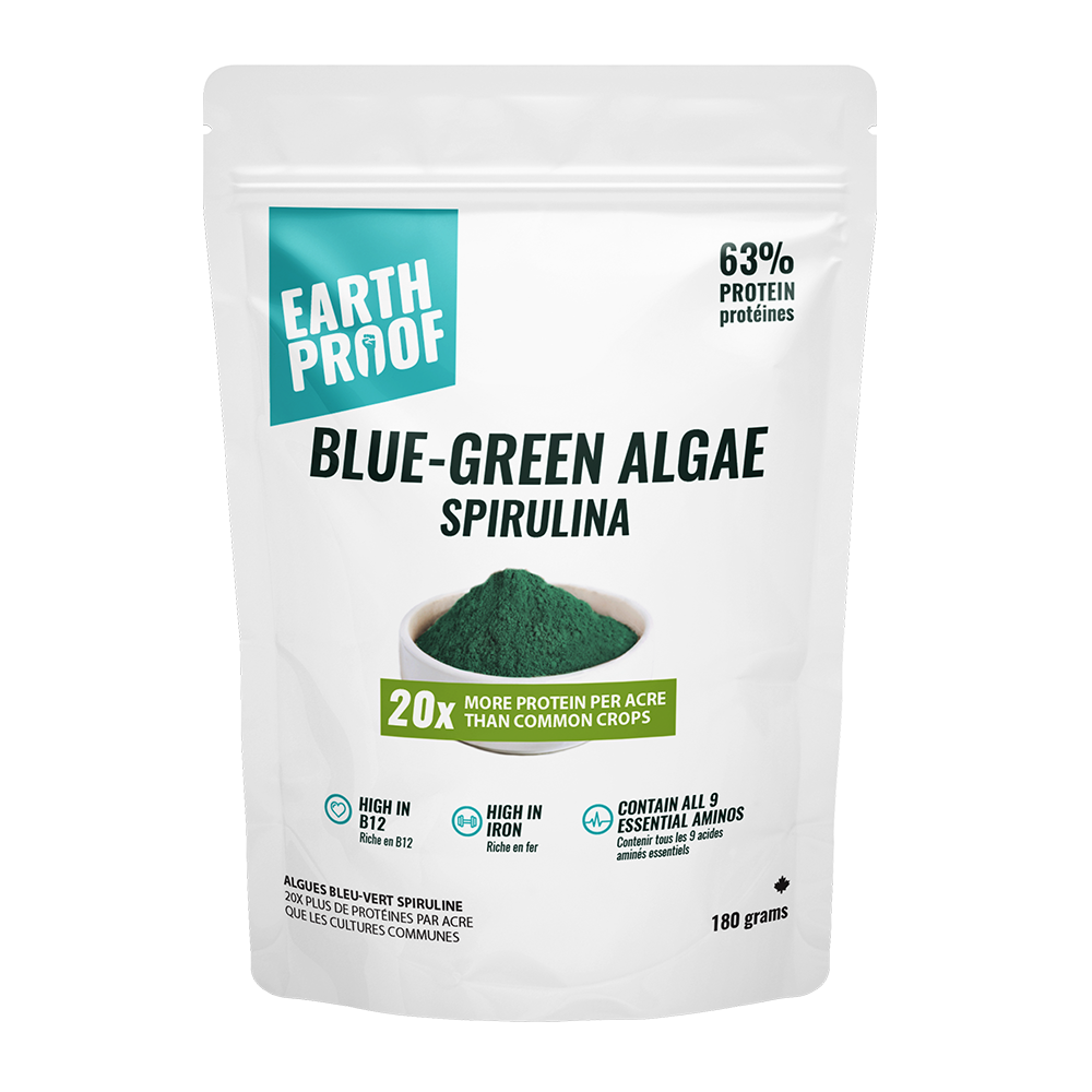 Pure Blue-Green Algae Powder (Spirulina) - Earthproof Protein