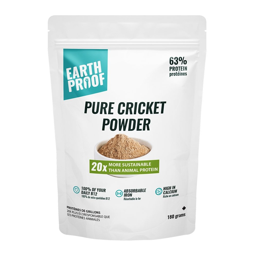 Pure Cricket Protein Powder (Cricket Flour) - Earthproof Protein