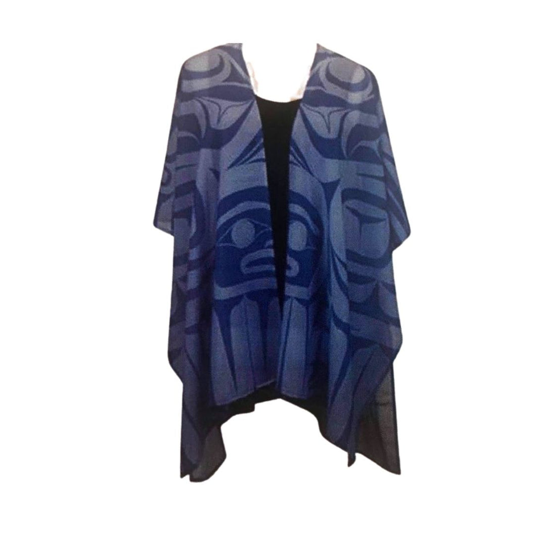 Raven Split Fashion Shawl