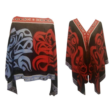Eagle & Raven Fashion Shawl/Poncho