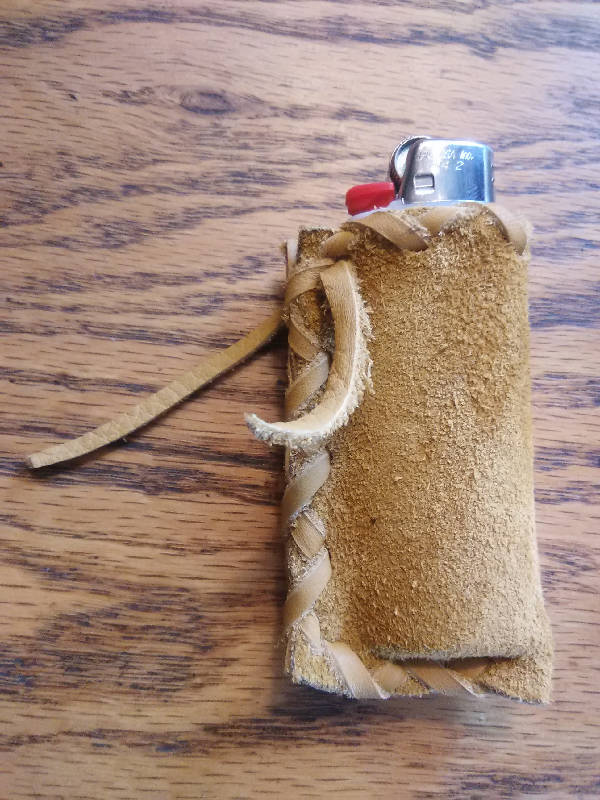 Leather lighter case (#21)