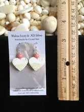 Load image into Gallery viewer, Walrus Ivory Earrings
