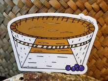 Load image into Gallery viewer, Harvest Alaska Birch Bark Basket Sticker